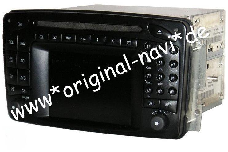 mercedes benz comand 2 0 dx navigationssystem w203 c klasse navi a203 ebay. Black Bedroom Furniture Sets. Home Design Ideas